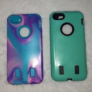 Two iPhone 5 rubber cases
